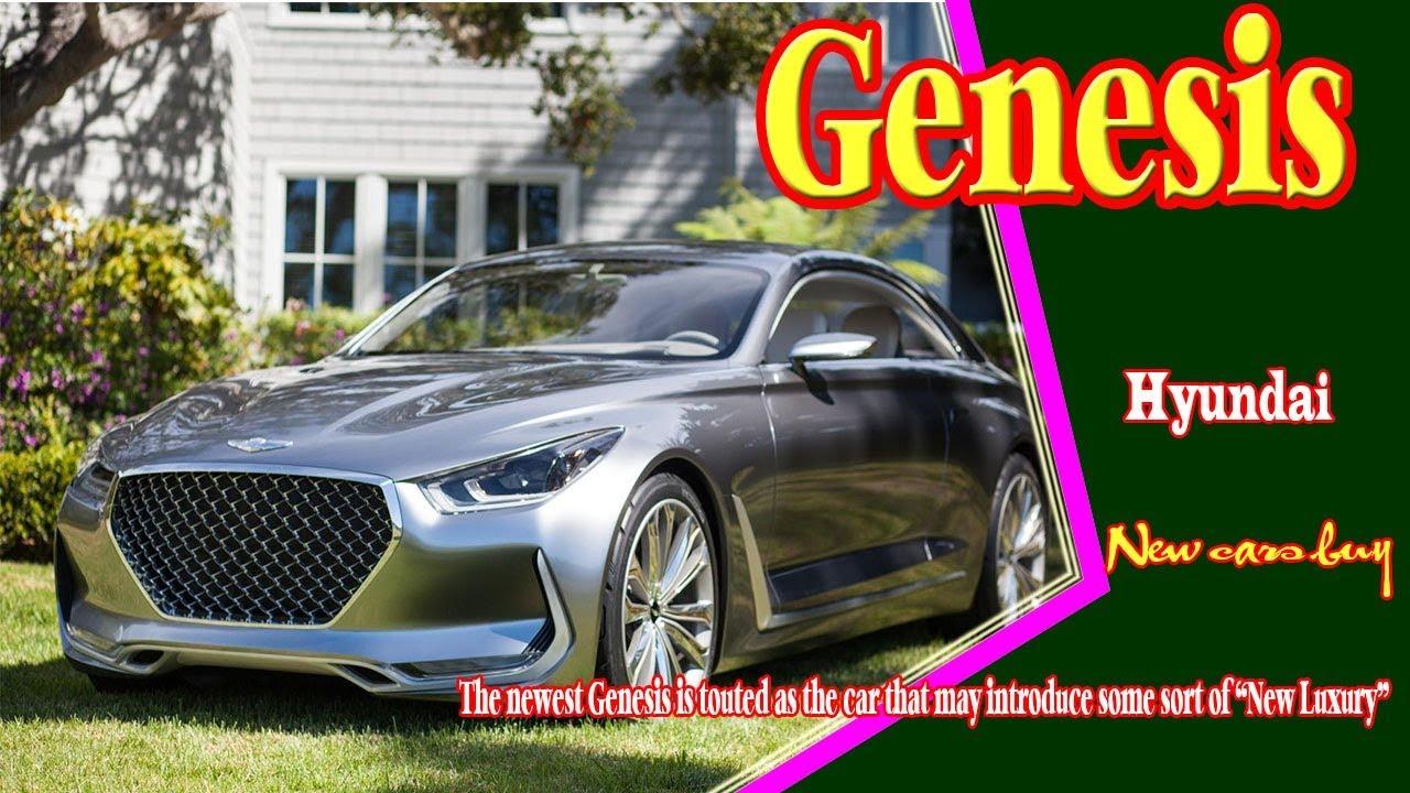 2019 Hyundai Genesis Sport Coupe New Cars