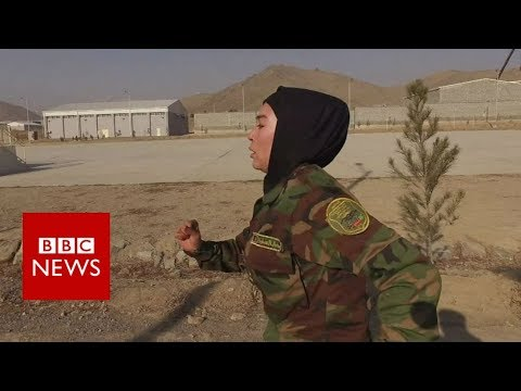 First Afghan female officer off to Sandhurst- BBC News
