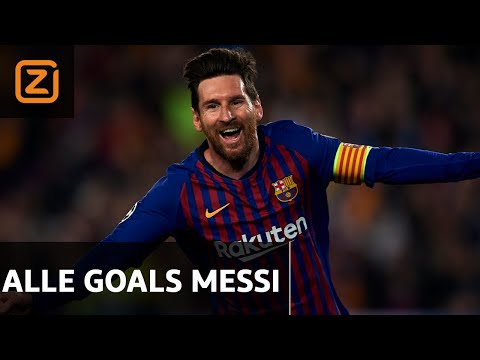 ALLE 36 MESSI GOALS OP EEN RIJTJE 💥 | Messi Highlights 2018/19