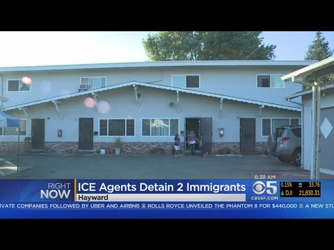 ICE Agents Detain 2 In Hayward After Approving Sanctuary City Ordinance