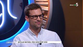 Nicolas Mathieu, Prix Goncourt 2018 pour son roman « Leurs enfants après eux »