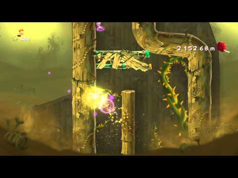 Rayman Legends daily extreme challenge 5th of August.