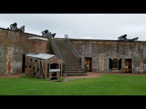 Fort Macon State Park, Atlantic Beach, North Carolina (Trip 7 Vid 12)