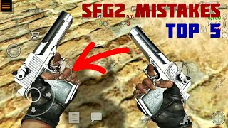 Top 5 Mistakes in Sfg2 | Special Forces Group 2