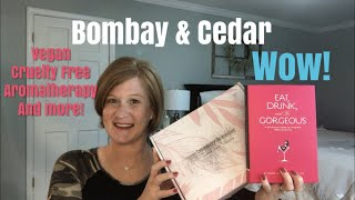 Bombay and Cedar / A Vegan and Cruelty Free Lifestyle Box / Aromatherapy