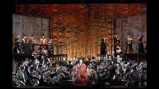 新国立劇場で2019年2月17日~24日に上演されるオペラ『紫苑物語』のゲネ...