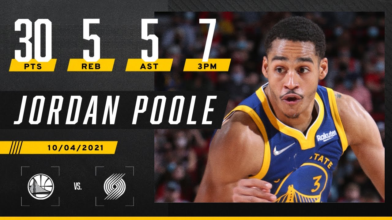 Jordan Poole looking like answer to what Warriors have needed