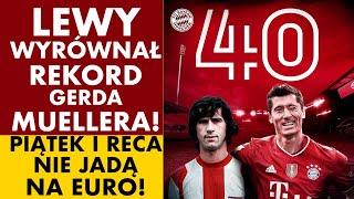 Lewandowski Wyrownal Rekord Gerda Muellera Piatek I Reca Nie Jada Na Euro Youtube