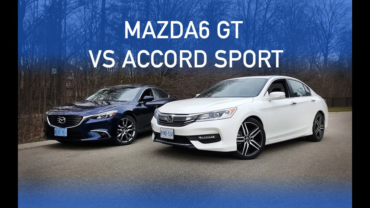 review 2016 mazda 6 gt vs 2016 accord sport part 1. Black Bedroom Furniture Sets. Home Design Ideas