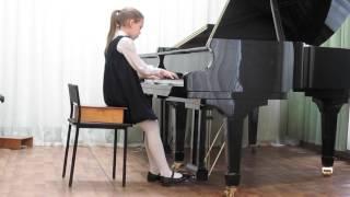 Анна Коваленко, 11 лет. Кот и мышь.