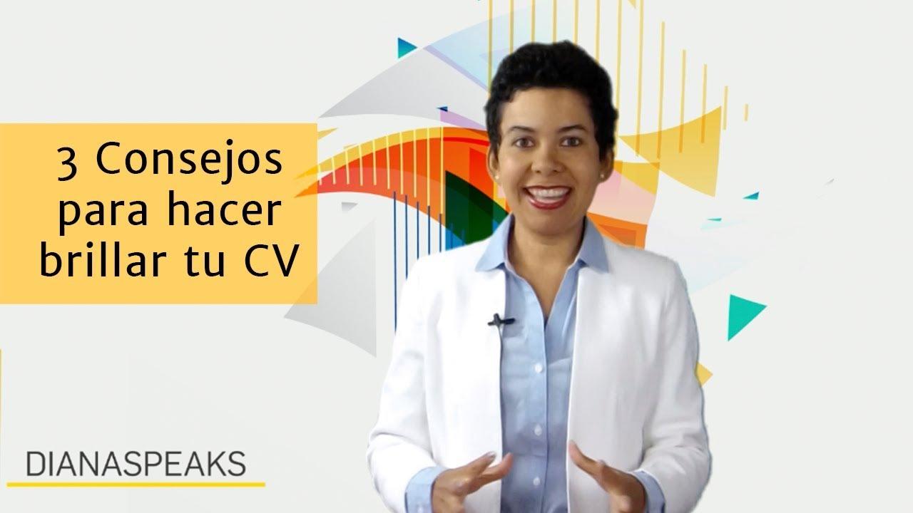 3 Consejos para hacer brillar tu CV - YouTube