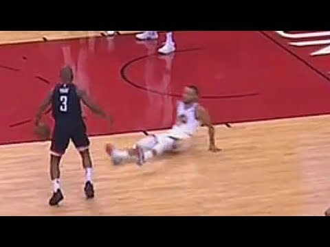 Chris Paul Breaks Stephen Curry's Ankles! Warriors vs Rockets Game 1 - 2018 NBA Playoffs