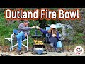 - Demo and Review of our Outland Fire Bowl Model 870 - Portable Propane Gas Fire Pit
