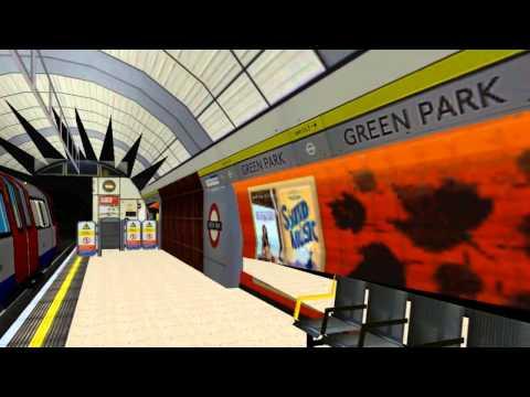 Openbve London Underground Oxford Circus To Waterloo
