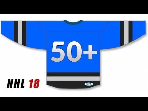 50+ JERSEY NUMBER DRAFT!! (NHL 18 Fantasy Draft)