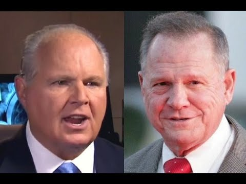 Rush Has Controversial Idea Why Roy Moore Committed His Sex Acts, Is He Right