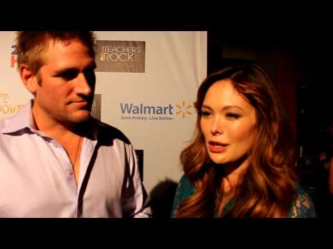 with Curtis Stone and Lindsay Price at Teachers Rock 2012
