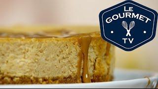 Dulce De Leche Cheesecake Recipe - Legourmettv