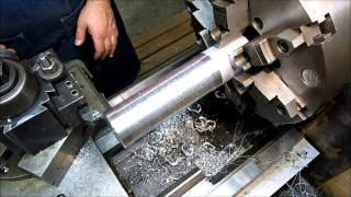 Leveling and Setup of the metalworking lathe P2