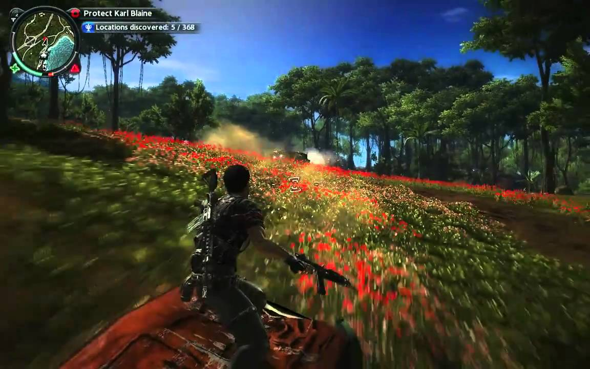 Just Cause 2 – Bye Hummers!