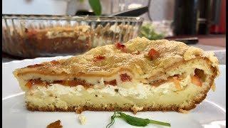 Ленивый Пирог за 10 минут + время на выпечку!