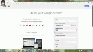 How to Create/Sign up/Login Gmail Account  hindi