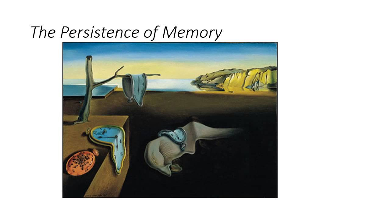 A Critique of Salvador Dali's The Persistence of Memory - YouTube