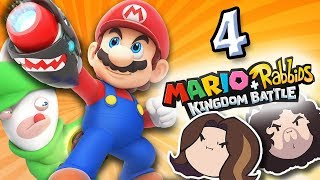 Mario + Rabbids Kingdom Battle: Accentuated Humor - PART 4 - Game Grumps