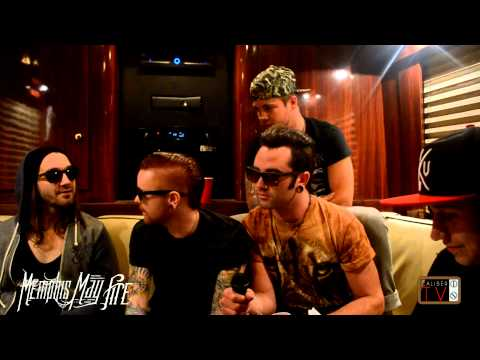 MEMPHIS MAY FIRE INTERVIEW   TOUR LIFE   ZOMBIE INFECTION