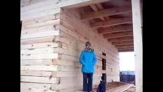 видео Дом из бруса 10х8