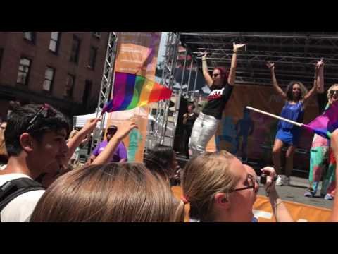 Betty - The L Word Theme Song, Sticky Rice @ NY Pride. June 25, 2017.