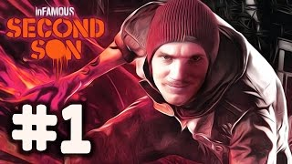 InFamous: Second Son - Gameplay - Part 1 - Walkthrough / Playthrough / Lets Play thumbnail