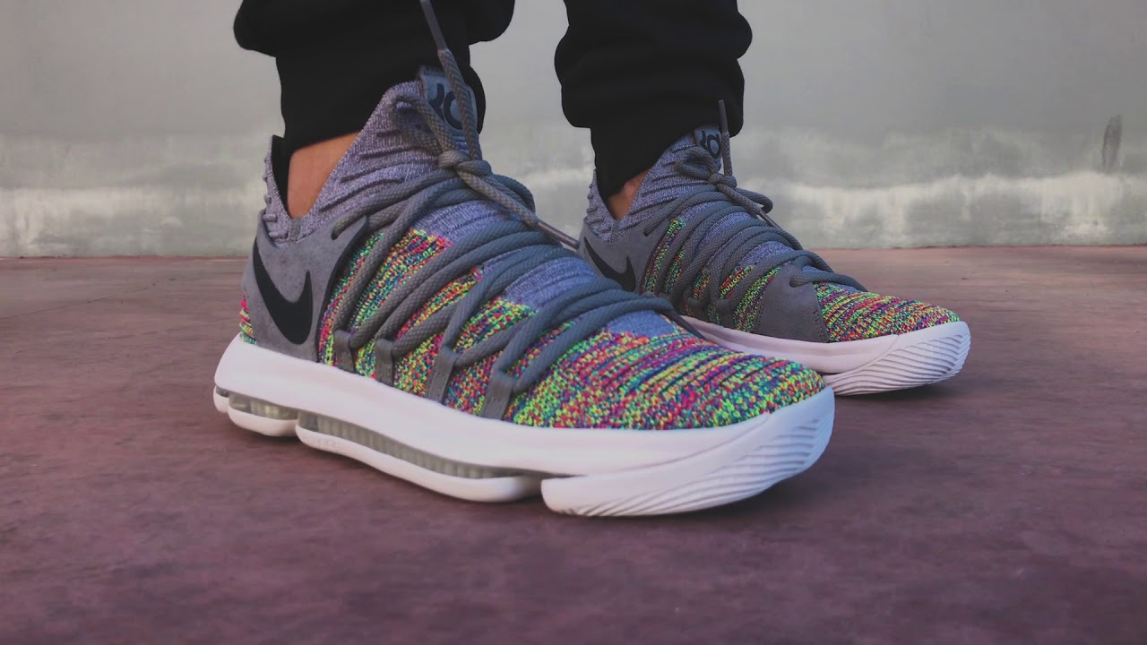 superior quality 7d1fd 7870d Nike ZOOM KD10 Multicolor   Sneaker10
