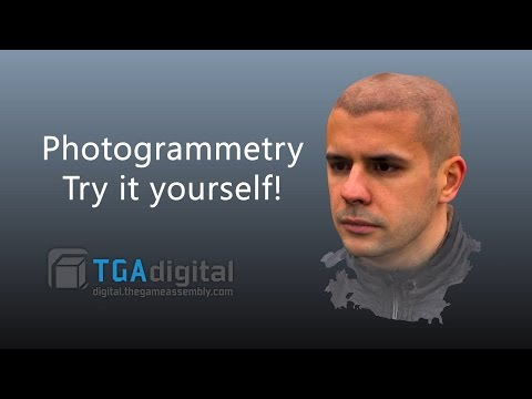 TGA Digital - Photogrammetry Overview (Try it yourself!)