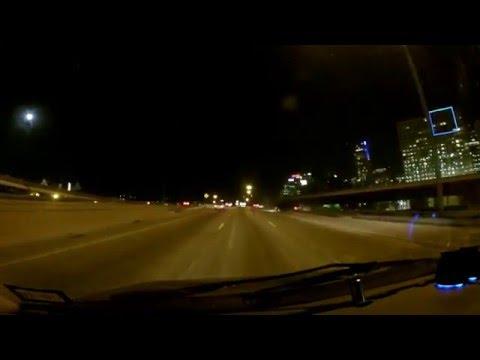 Ghost on Dallas freeway