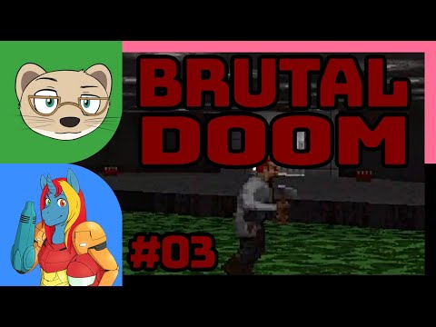 Brutal DOOM with IndieTimmie Part 3 — INVISIBILITY DOES NOTHING! — Yahweasel