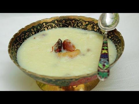 recette-de-dessert-indien-khir-de-semoule-₪-pankaj-sharma