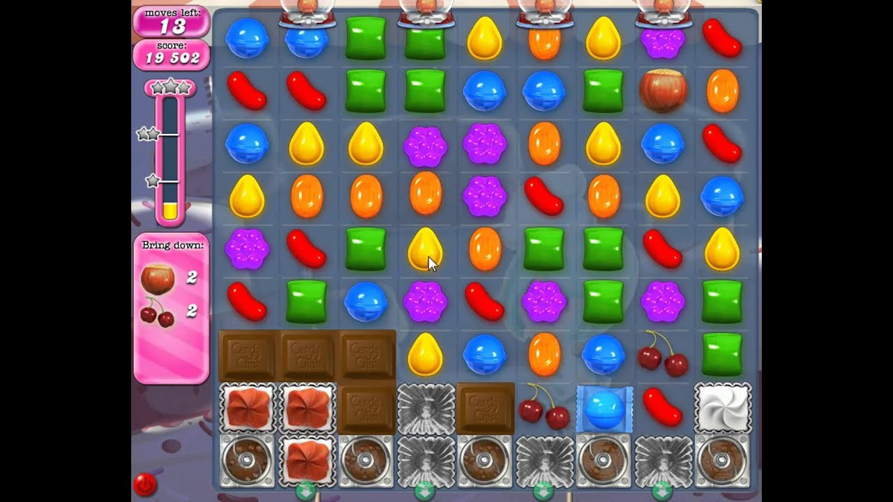 how to pass level 374 on candy crush