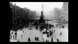Real archival footage from 1916 Easter Rising, Dublin