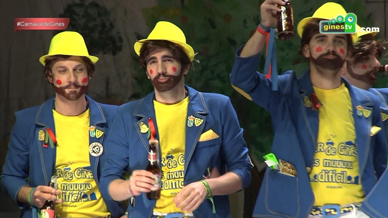 Gines Man 2.0. Carnaval de Gines 2017 (Gran Final)