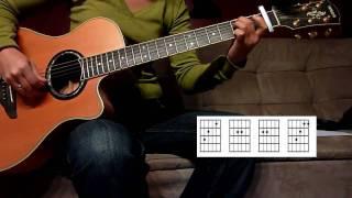 Mylene Farmer Laisse le  vent emporter tout guitare acoustic + Tab