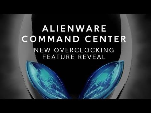 New Alienware Command Center: CPU, GPU, RAM Overclocking Software