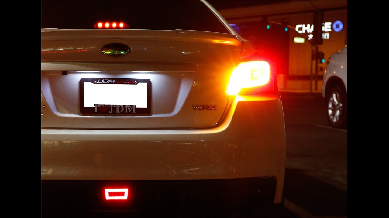 IJDMTOY No Resistor Required LED Turn Signal Lights YouTube - Car signal light