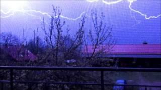 První bouřka 13.4.2016