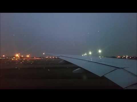 Taxi & Takeoff RWY 07 L flight Emirates EK357 CGK-DXB 14.06.2017 Boeing 777-300ER A6-EGT