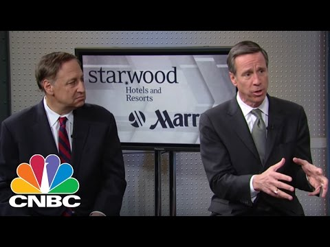 Starwood & Marriott CEOs: Taking Over The Hospitality World | Mad Money | CNBC
