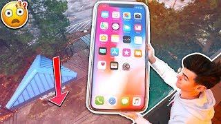 WORLDS BIGGEST IPHONE X MOD! *INSANE*