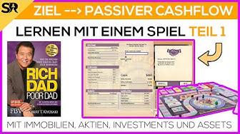Crashkurs für einen Cashflow mit Vermögenswerten und Immobilien - EP1 Cashflow Spiel RobertKiyosaki