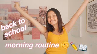 back to school morning routine! online school edition 🏫