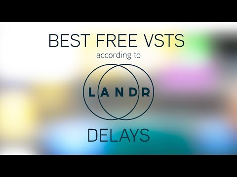 Free! VST Effects! (Delay)